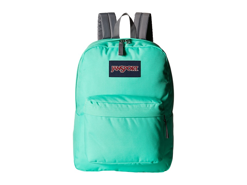 JanSport - SuperBreak (Seafoam Green) Backpack Bags