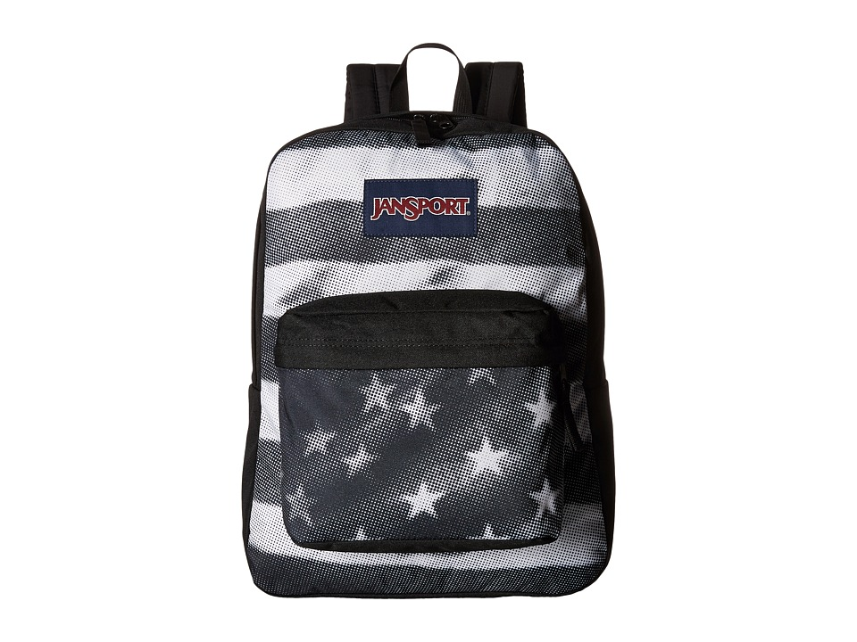 JanSport - SuperBreak(r) (Black Tonal USA) Backpack Bags
