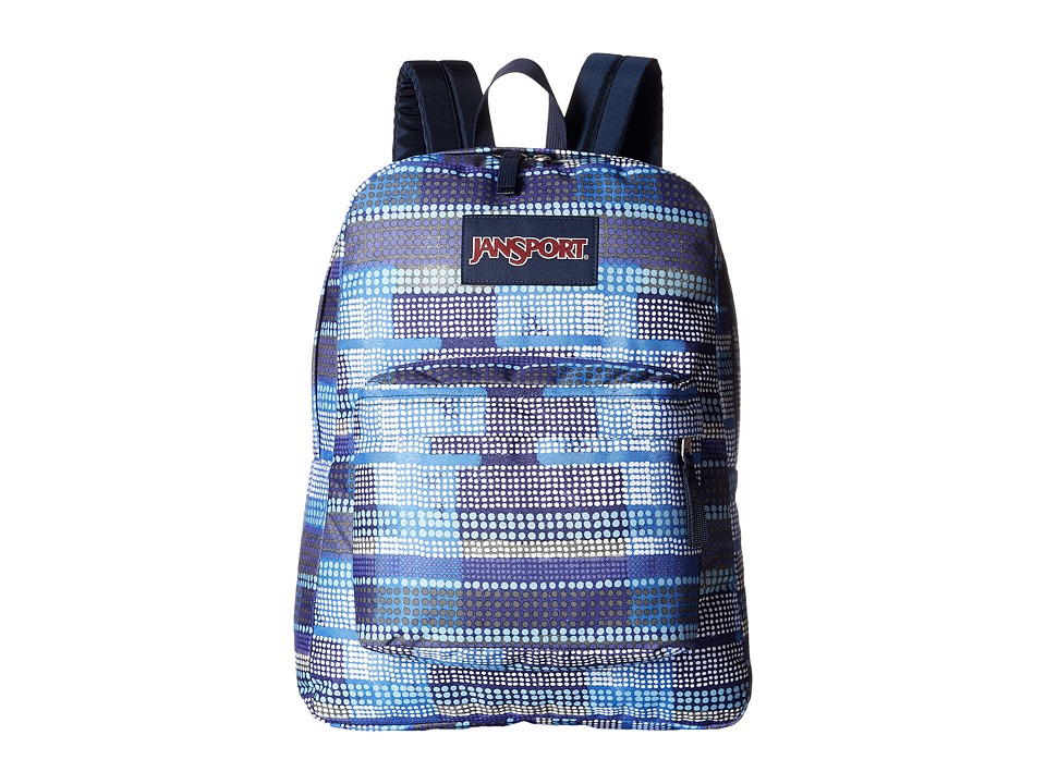 JanSport - SuperBreak (Multi Dotty Stripe) Backpack Bags