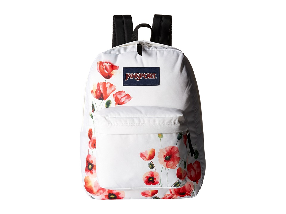JanSport - SuperBreak (Multi California Poppy) Backpack Bags