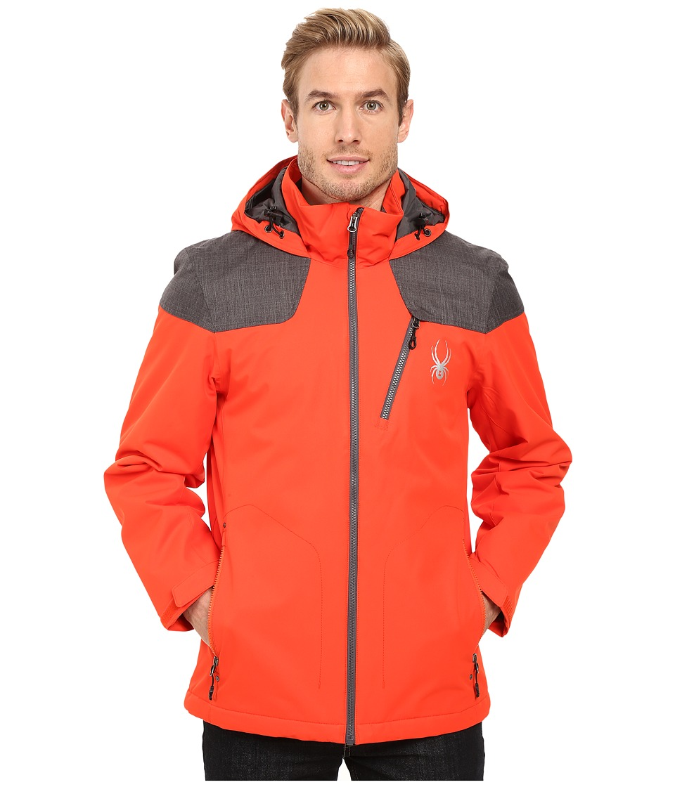 Spyder - Vyrse Jacket (Rage/Polar Crosshatch/Polar) Men's Jacket