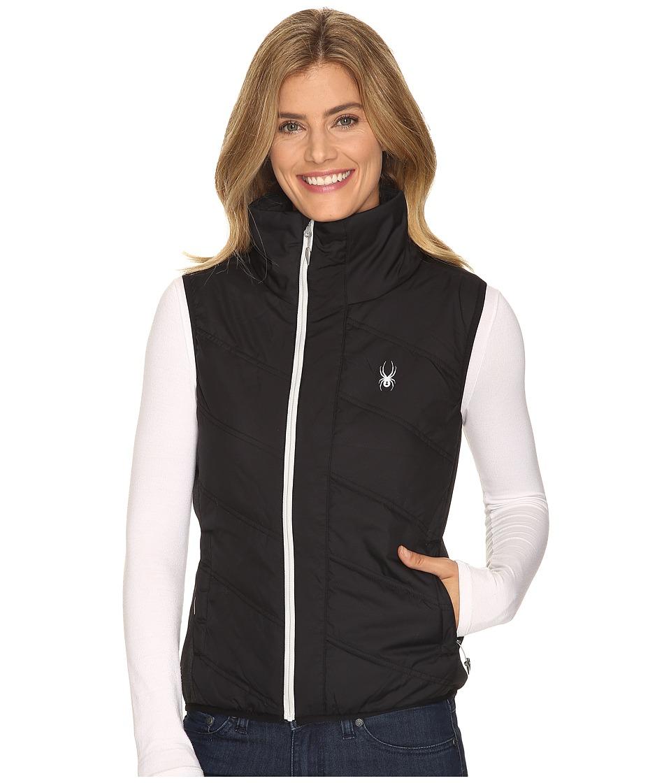 Spyder - Exit Insulator Vest (Black/Silver) Women's Vest