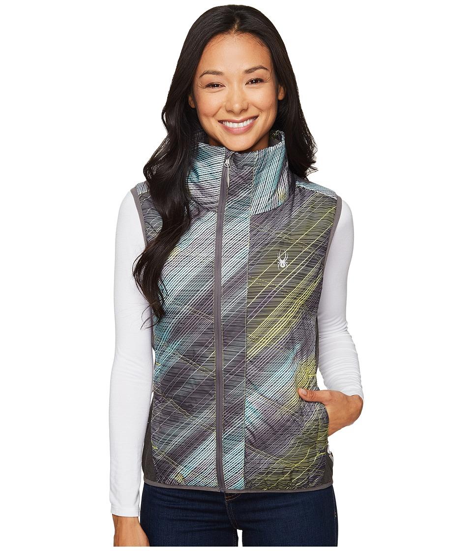 Spyder - Exit Insulator Vest (Geo Rays Acid/Weld) Women's Vest