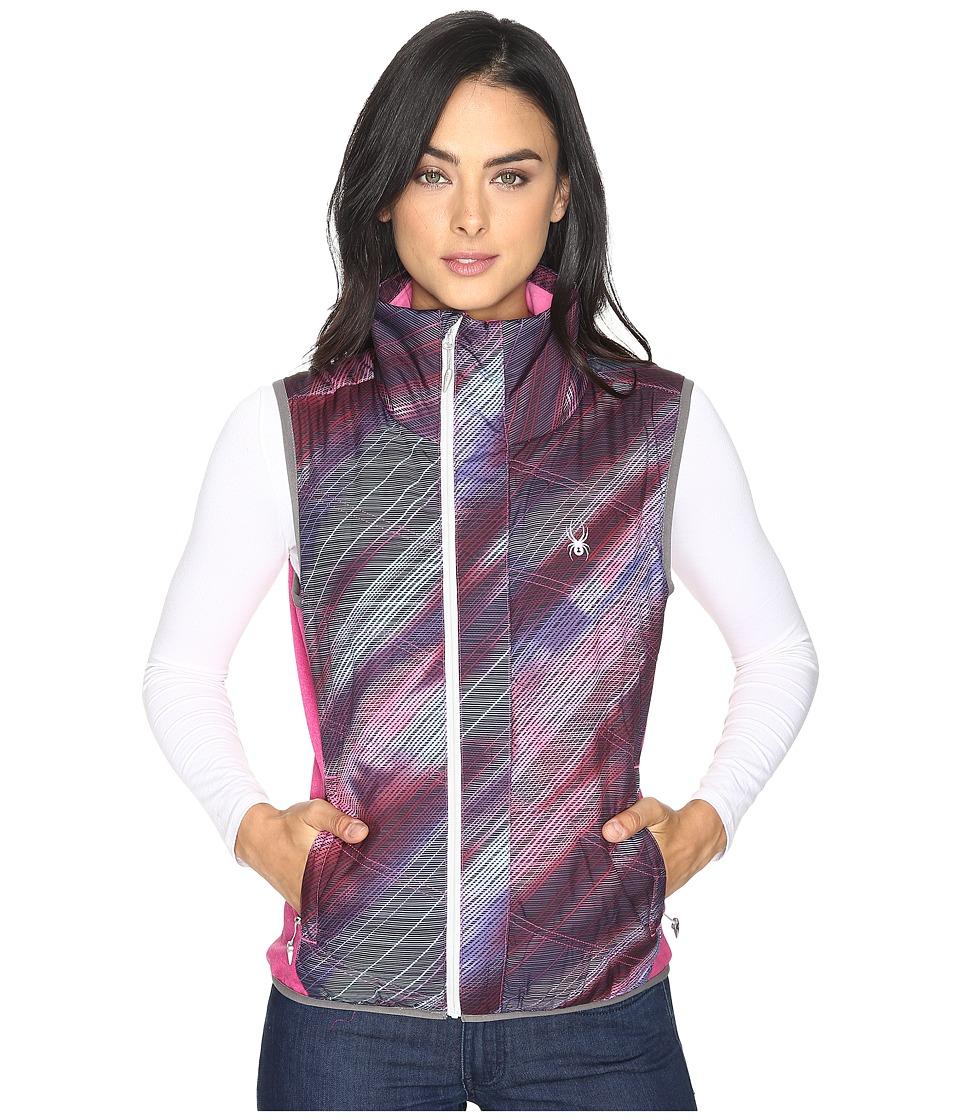 Spyder - Exit Insulator Vest (Geo Rays Voila/Voila) Women's Vest