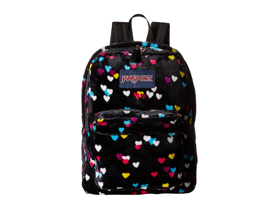 JanSport - High Stakes (Black First Love) Backpack Bags