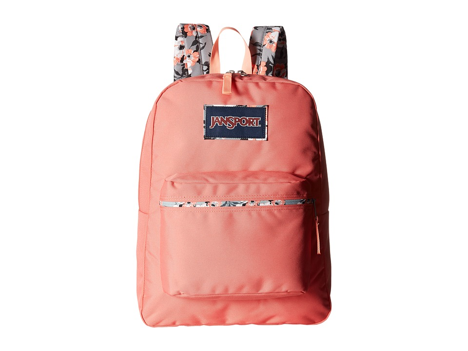 JanSport - High Stakes (Coral Spark/Pretty Posey) Backpack Bags
