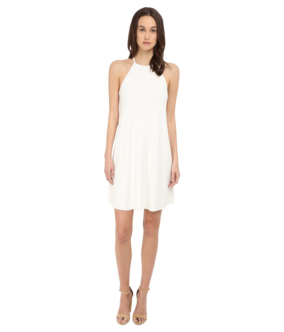 Theory Andora Prosecco Dress (Eggshell) Women