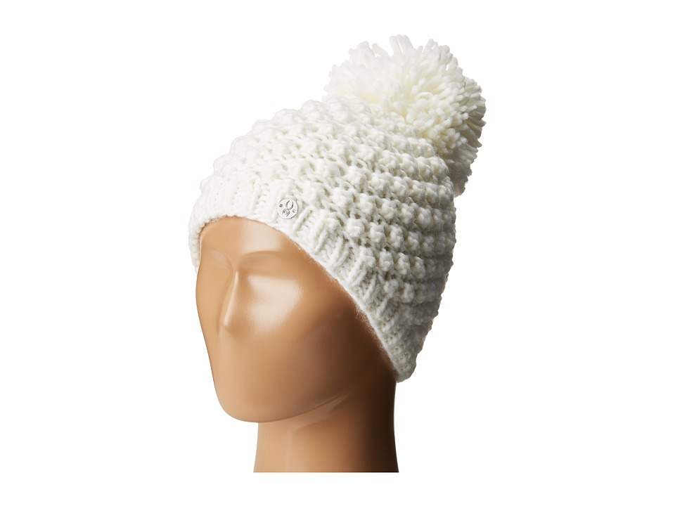 Spyder Kids - Brrr Berry Hat (Big Kids) (White) Snow Hats
