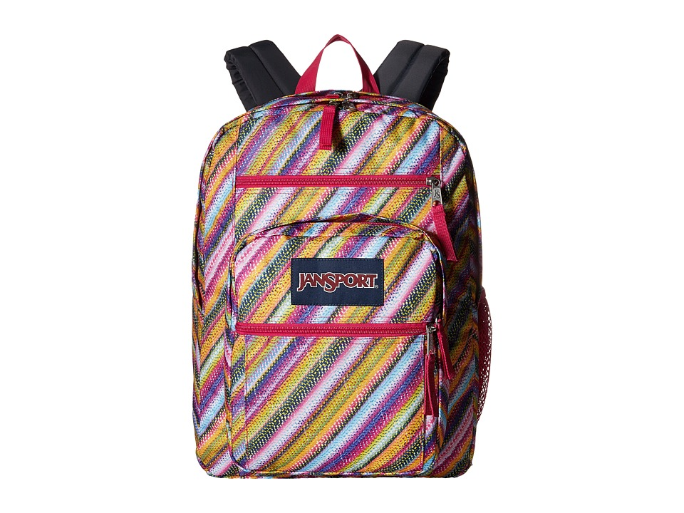JanSport - Big Student (Multi Texture Stripe) Backpack Bags