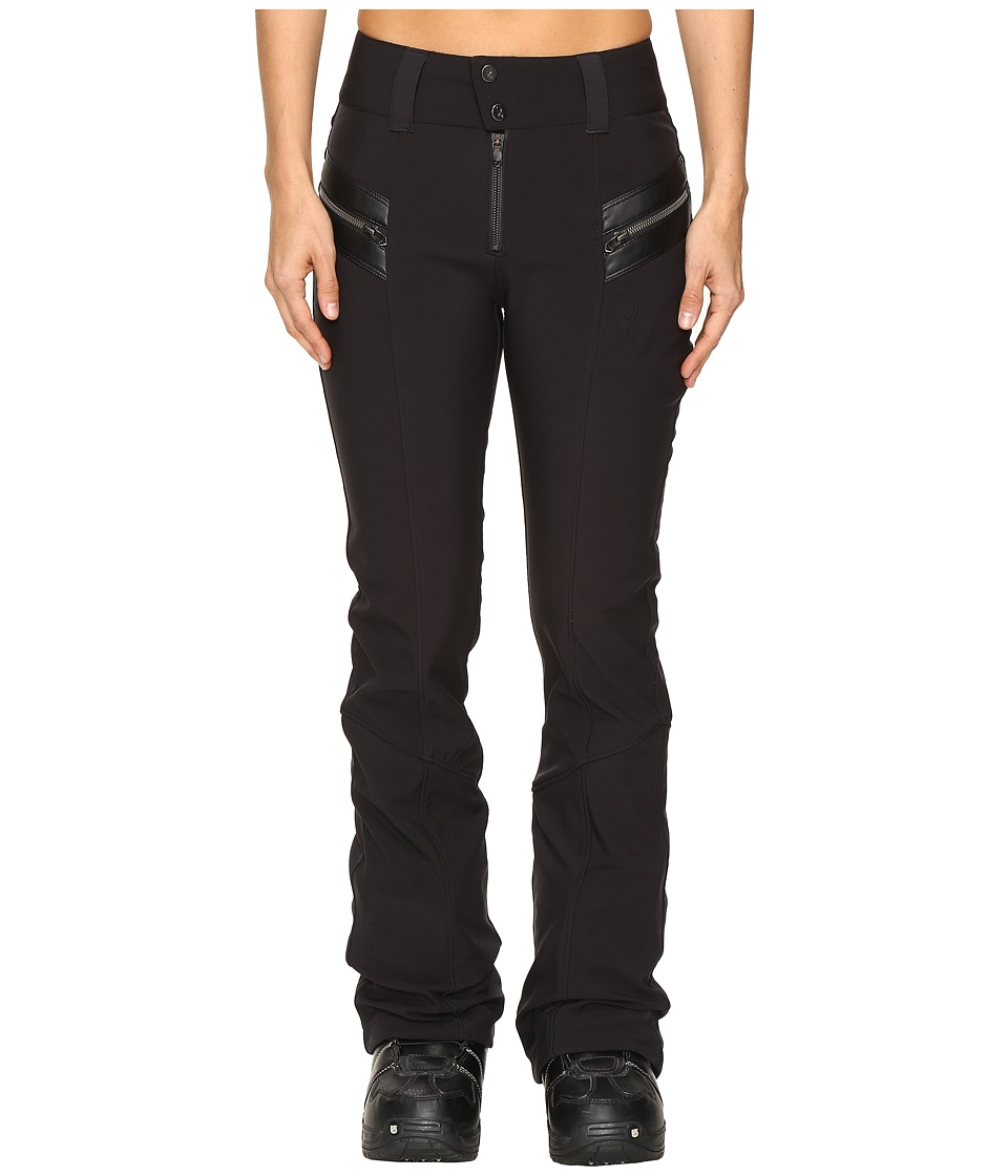 Spyder - Strutt Softshell Pants (Black) Women's Outerwear