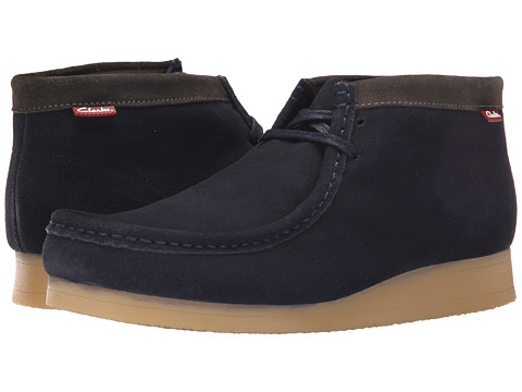 Clarks - Stinson Hi (Blue Suede) Men