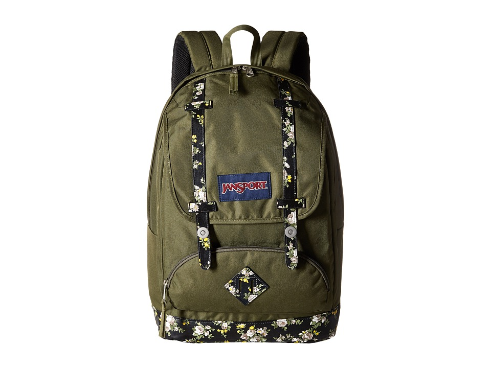 JanSport - Cortlandt Backpack (Multi Midnight Bouquet) Backpack Bags