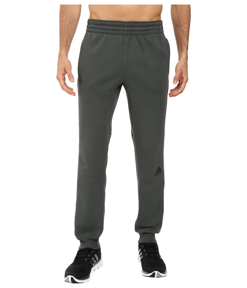 adidas - Slim 3-Stripes Sweatpants (Utility Ivy) Men's Casual Pants