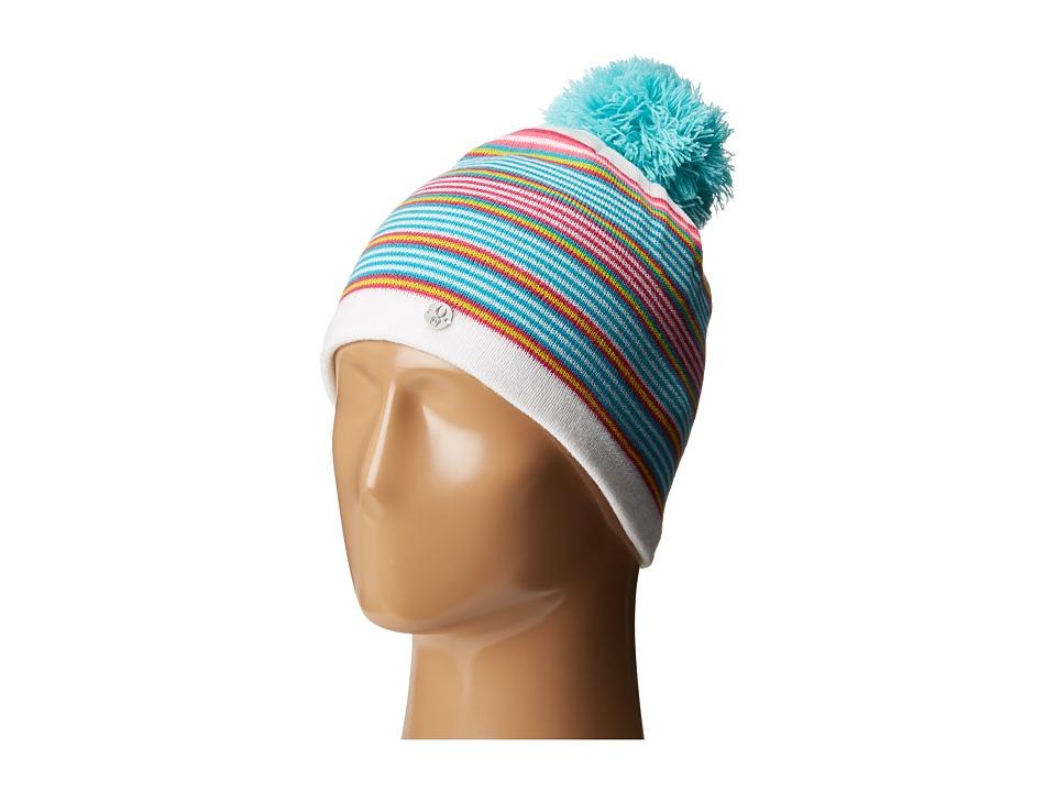 Spyder Kids - Icebox Hat (Big Kids) (White/Multi) Snow Hats