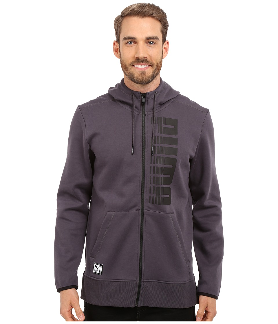 PUMA - FZ Graphic Hoodie (Periscope) Men's Sweatshirt