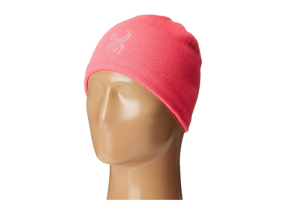 Spyder Kids - Shimmer Hat (Big Kids) (Bryte Bubblegum) Snow Hats