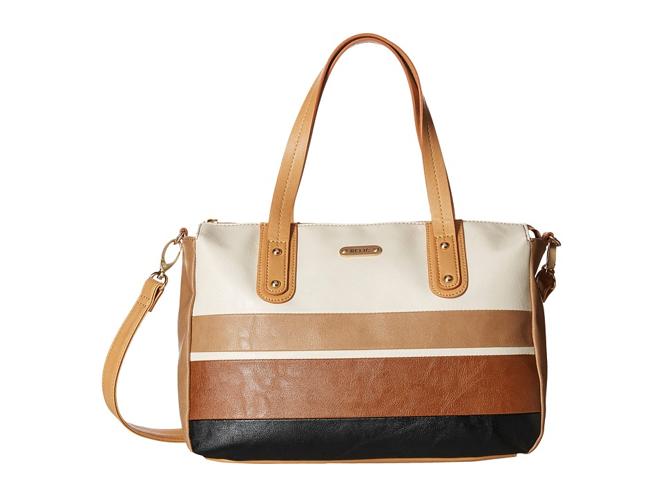 Relic - Cameron Satchel (Neutral Multi) Satchel Handbags