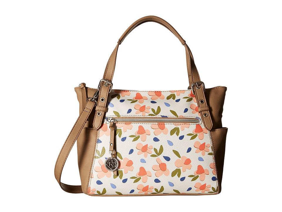 Relic - Finley Satchel (White Multi) Satchel Handbags