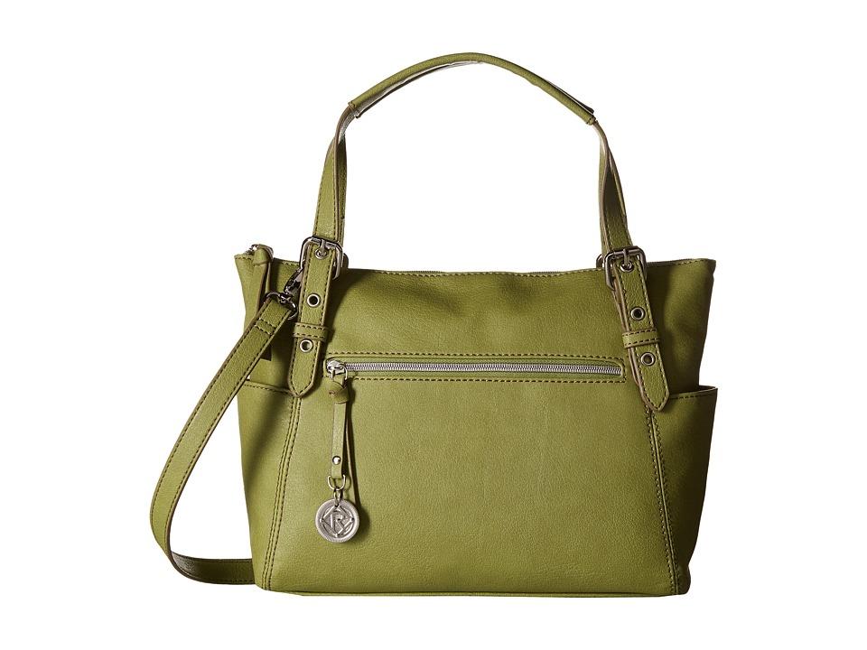 Relic - Finley Satchel (Olive) Satchel Handbags