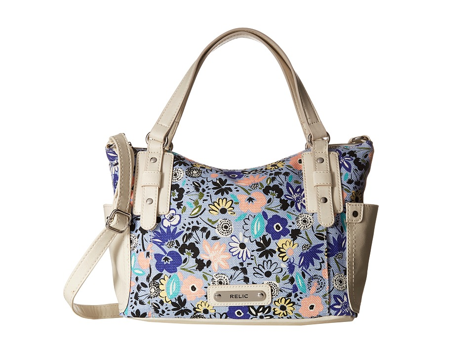 Relic - Monroe Satchel (Blue Multi) Satchel Handbags
