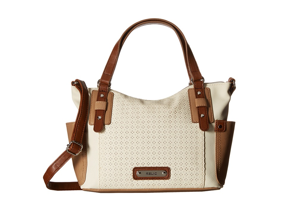 Relic - Monroe Satchel (Cloud White) Satchel Handbags