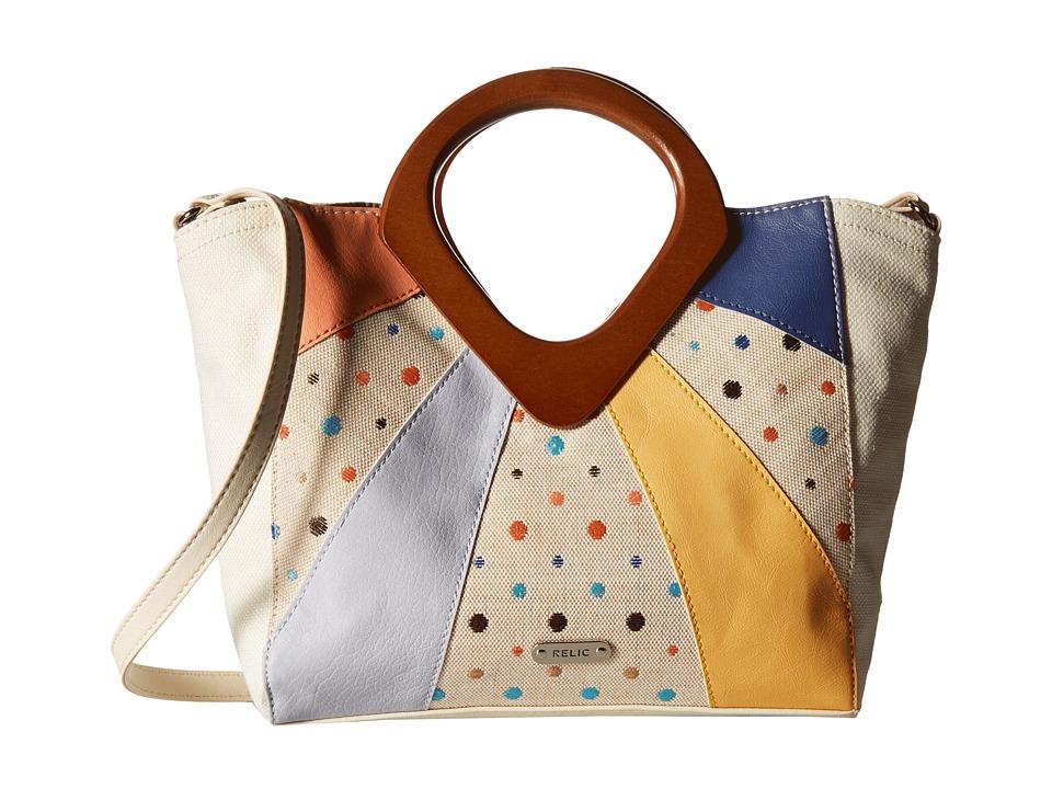 Relic - Addy Satchel (Bright Multi) Satchel Handbags