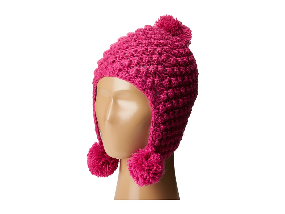 Spyder Kids - Bitsy Brrr Berry Hat (Big Kids) (Voila) Snow Hats
