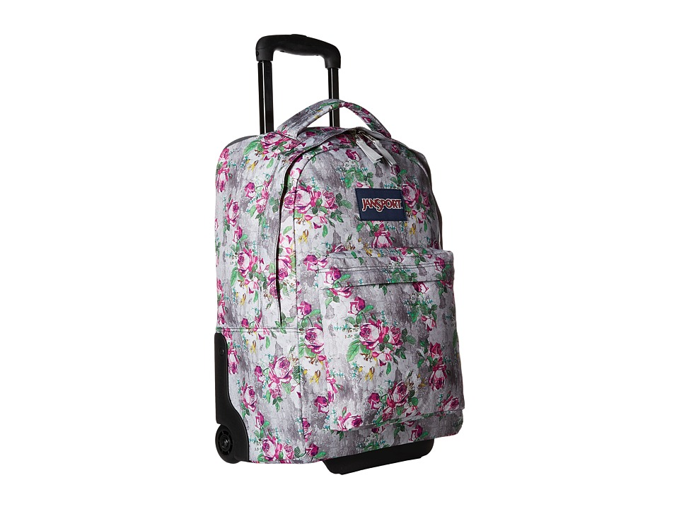 JanSport - Wheeled Superbreak (Multi Concrete Floral) Pullman Luggage