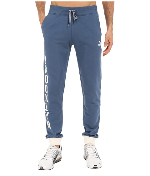 PUMA - Sweat Pants (Dark Denim) Men's Casual Pants