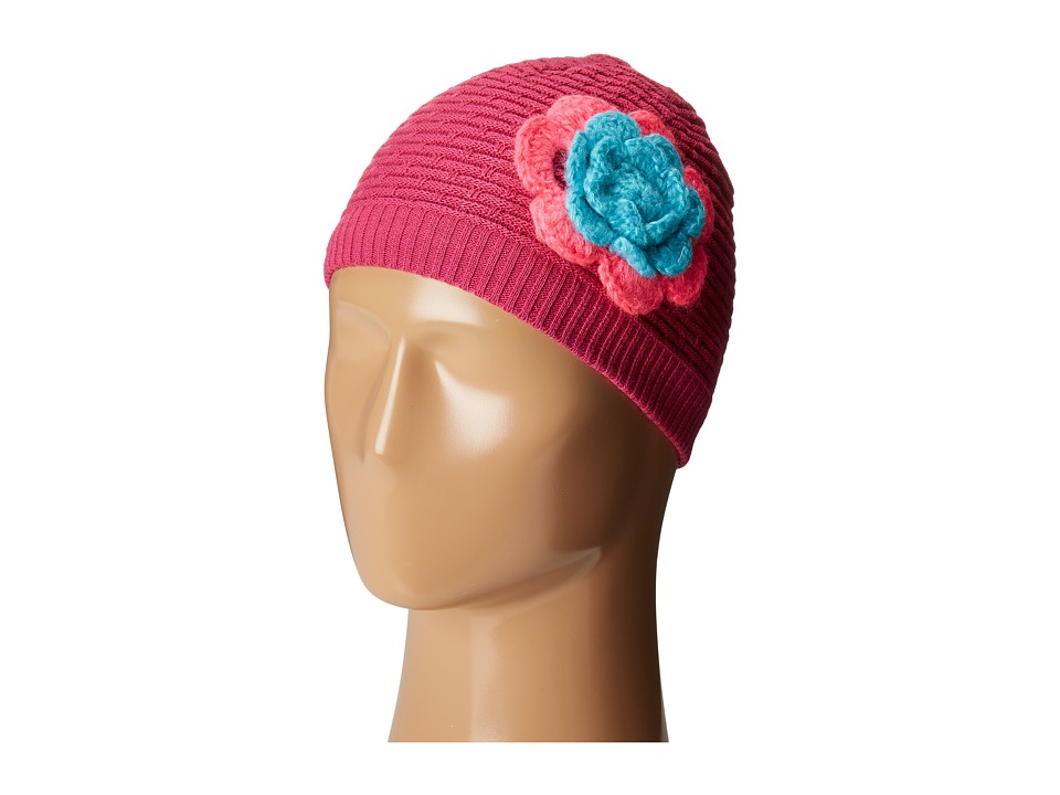 Spyder Kids - Bitsy Rosie Hat (Big Kids) (Voila/Bryte Bubblegum/Freeze) Snow Hats