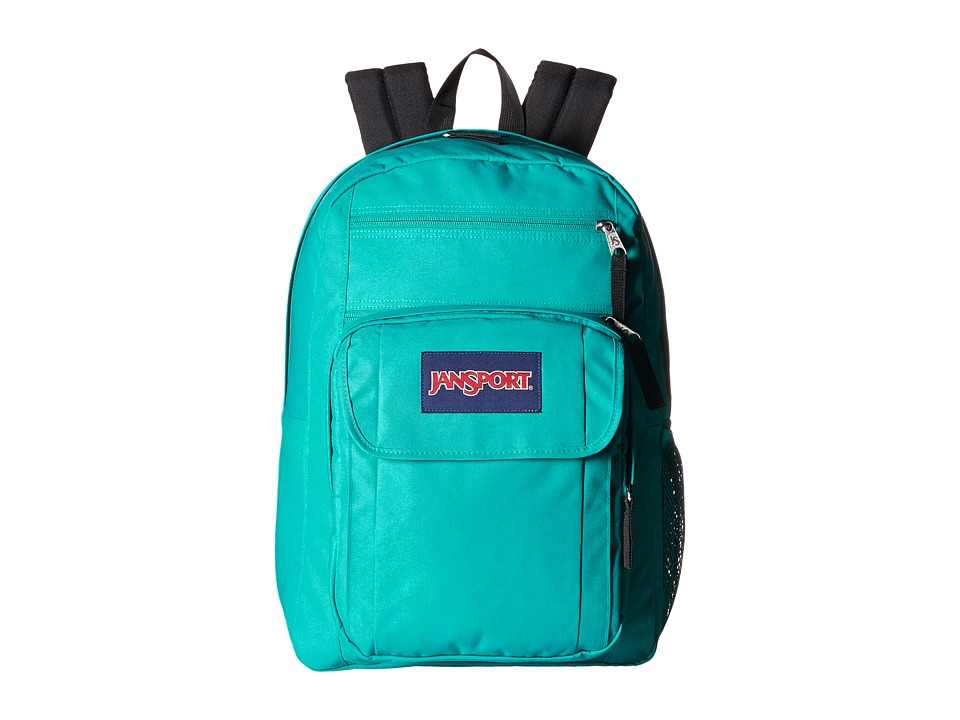 JanSport - Digital Student (Spanish Teal/Multi Stickers) Backpack Bags