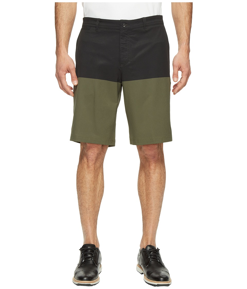 Nike Print Shorts (Black/Cargo Khaki/Wolf Grey) Men