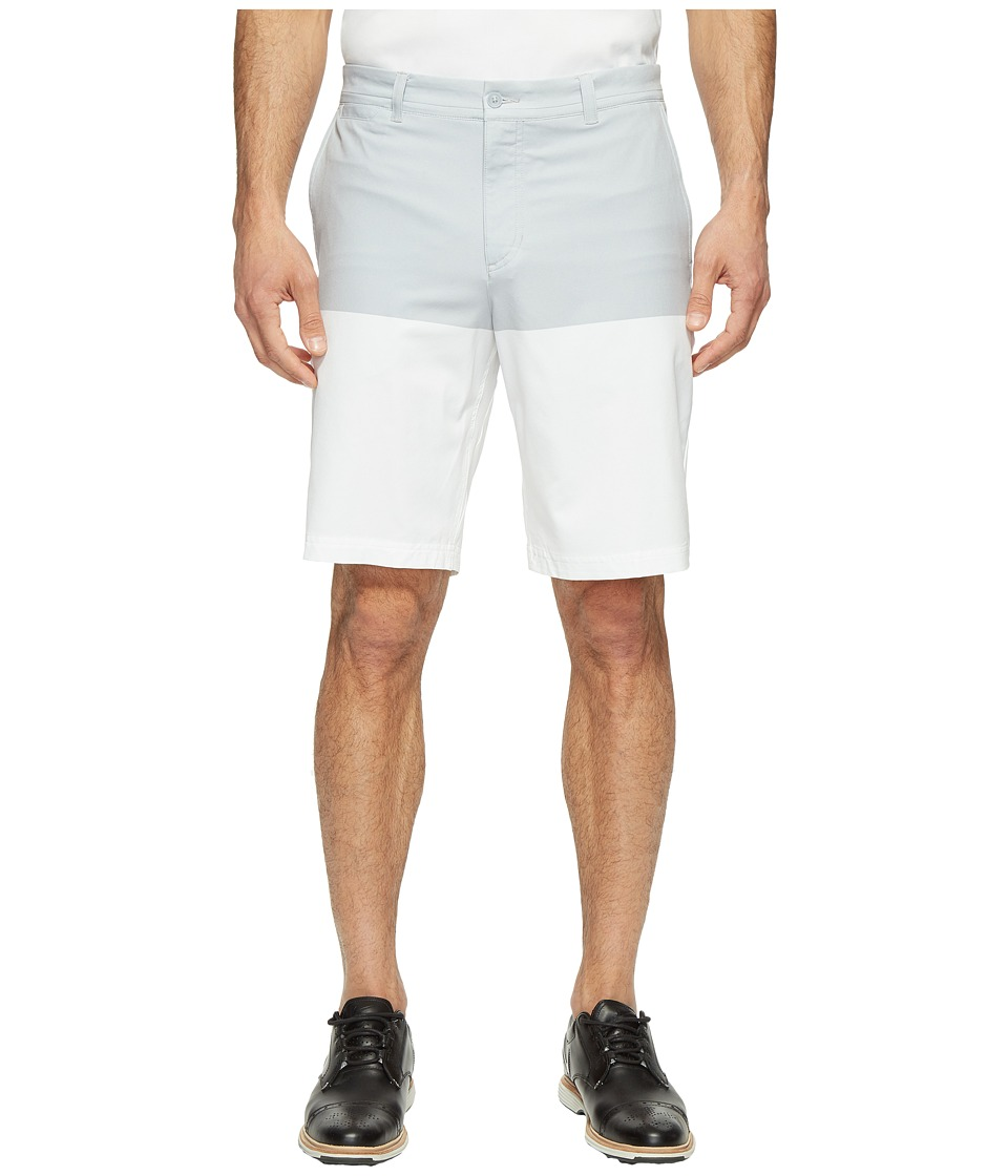 Nike - Print Shorts (Wolf Grey/White/Wolf Grey) Men's Shorts