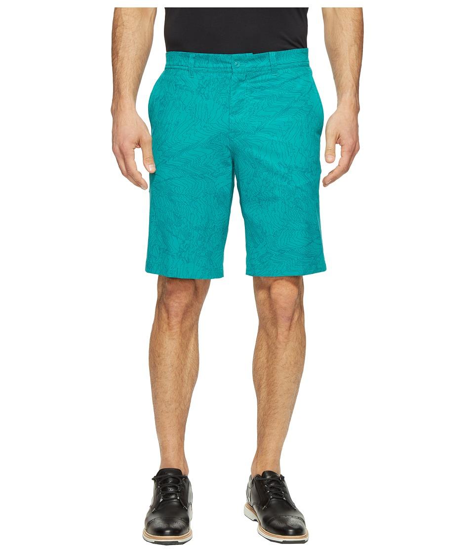Nike - Print Shorts (Rio Teal/Wolf Grey) Men's Shorts