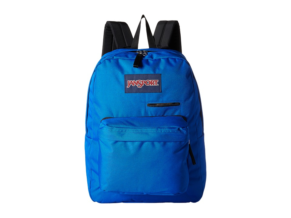 JanSport - Digibreak (Black/Blue Streak) Backpack Bags