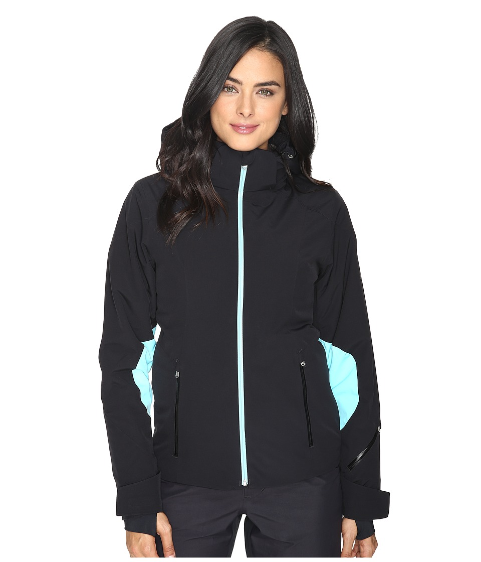 Spyder - Temerity Jacket (Black/Freeze/Freeze) Women's Jacket