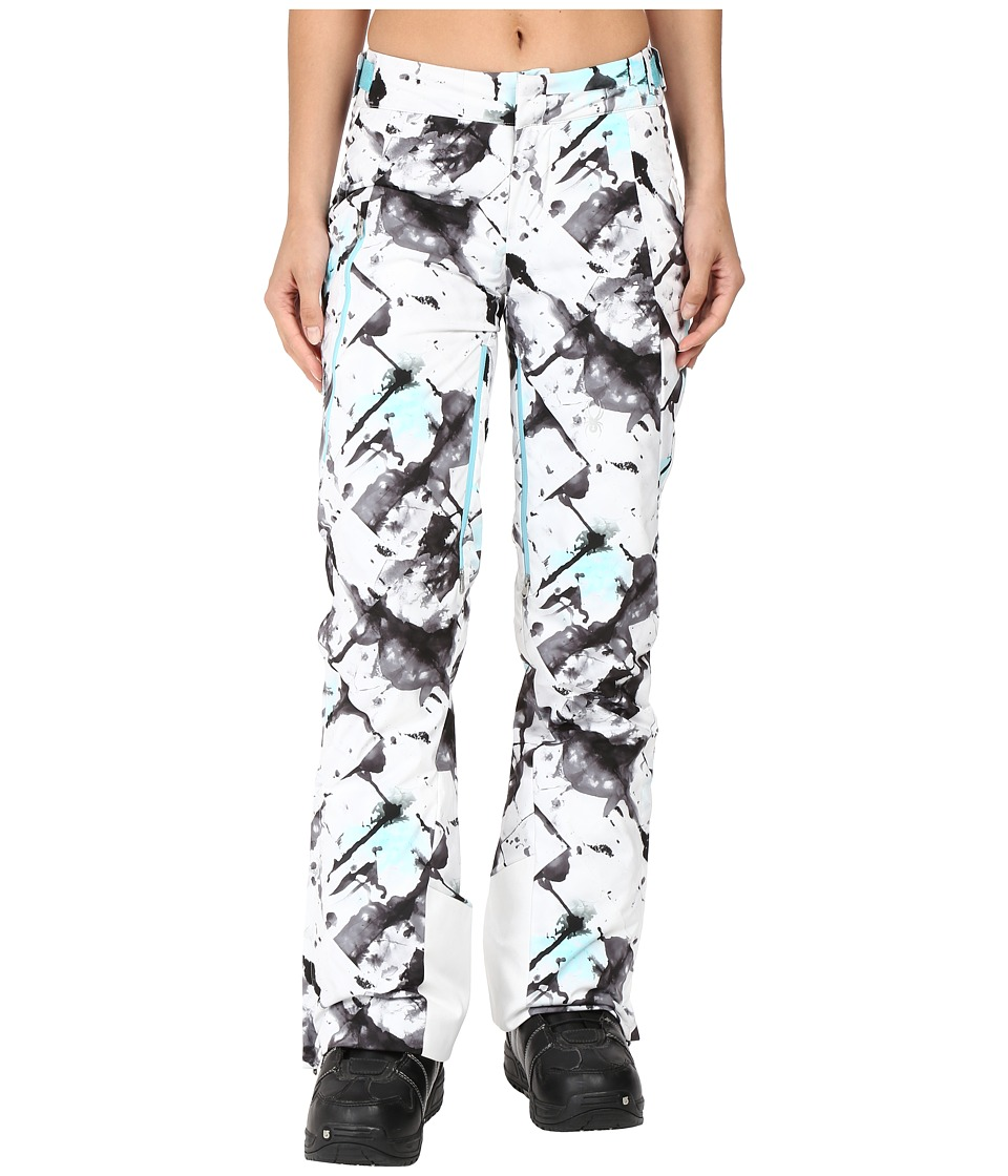 Spyder - Temerity Athletic Fit Pant (Frozen Freeze Print) Women's Casual Pants