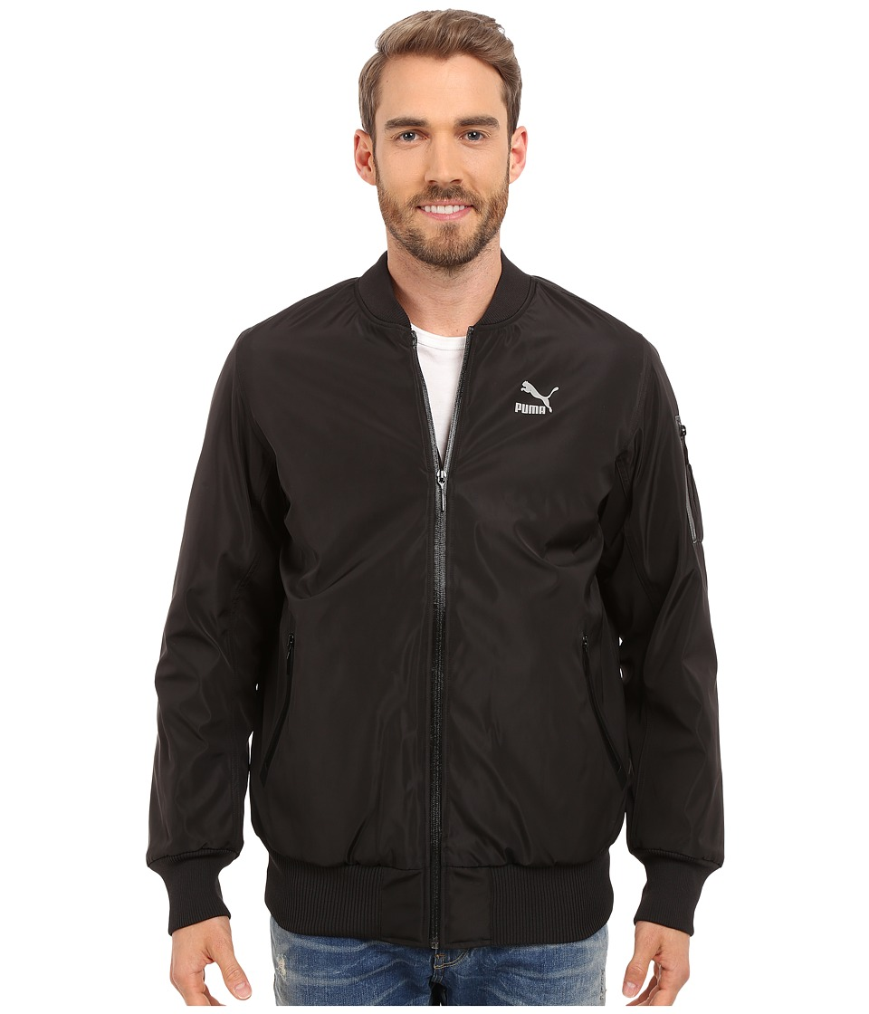 PUMA - Evo Ma Jacket (Black) Men's Coat