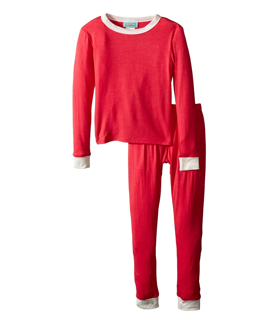 BedHead Kids - Snug Fit L/S Classic PJ (Toddler/Little Kids) (Deep Coral) Girl's Pajama Sets