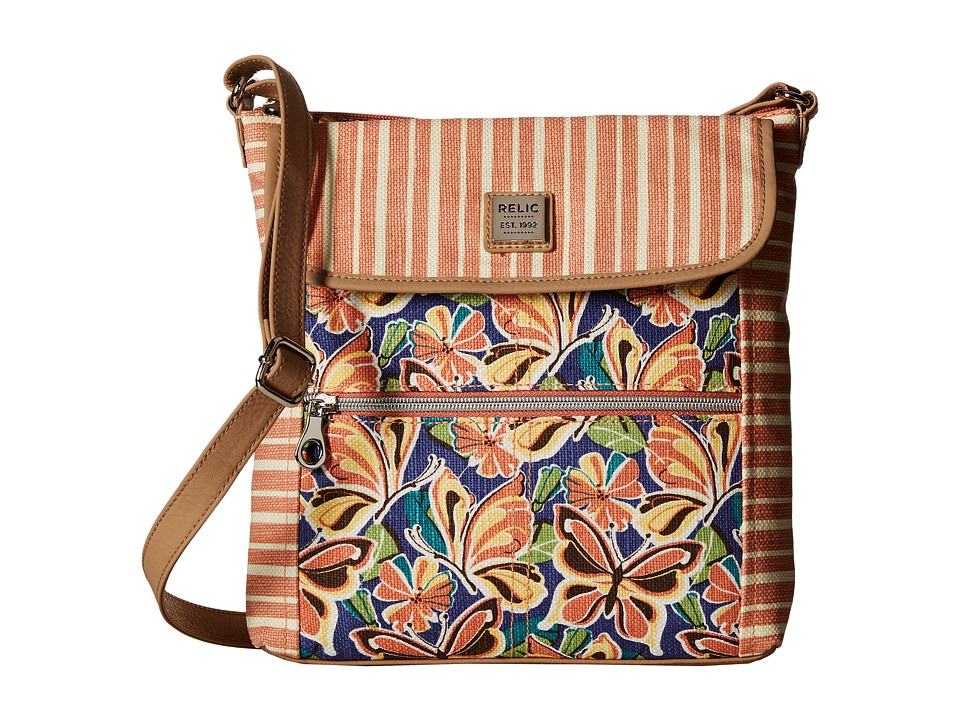 Relic - Erica Flap Crossbody (Butterfly Multi) Cross Body Handbags