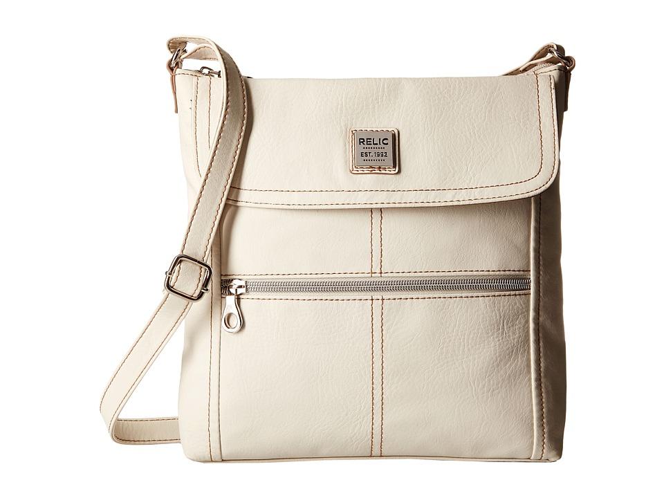 Relic - Erica Flap Crossbody (Cloud White) Cross Body Handbags
