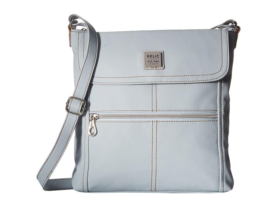 Relic - Erica Flap Crossbody (Clear Blue) Cross Body Handbags