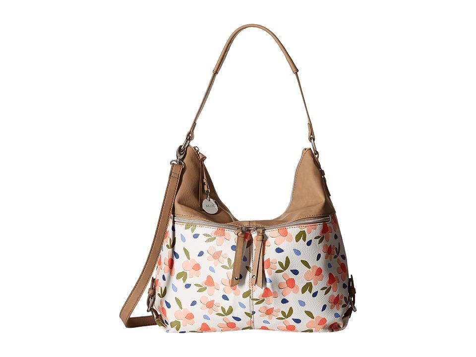 Relic - Finley Hobo Crossbody (White Multi) Hobo Handbags