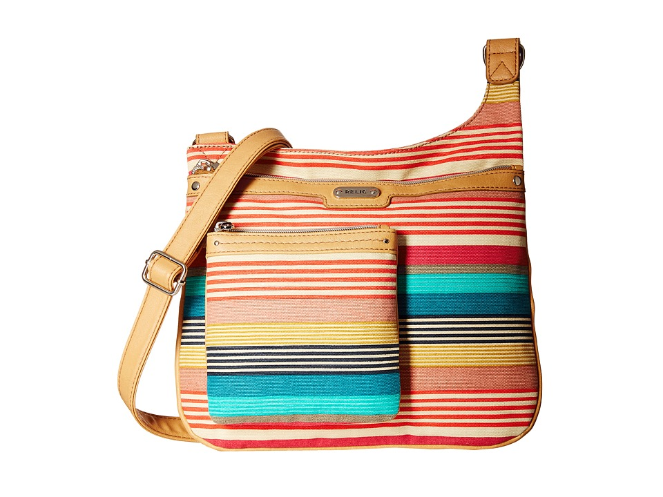 Relic - Evie Convertible Crossbody (Bright Stripe) Cross Body Handbags