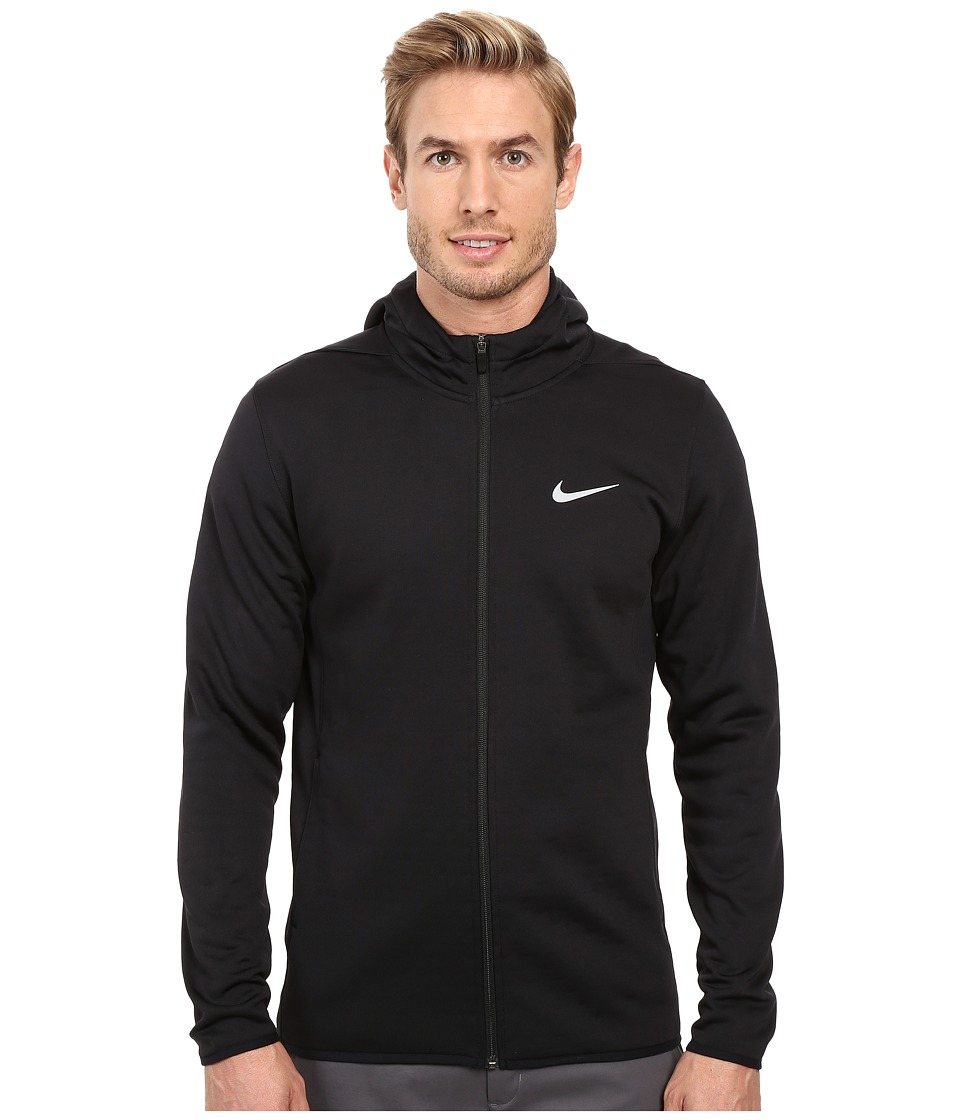 Nike - Tech Sphere Full Zip Hoodie (Black/Dark Grey/Flat Silver) Men's Sweatshirt