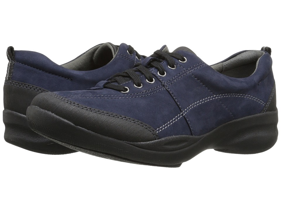 Clarks - In Motion Drive (Navy Nubuck) Women's Shoes