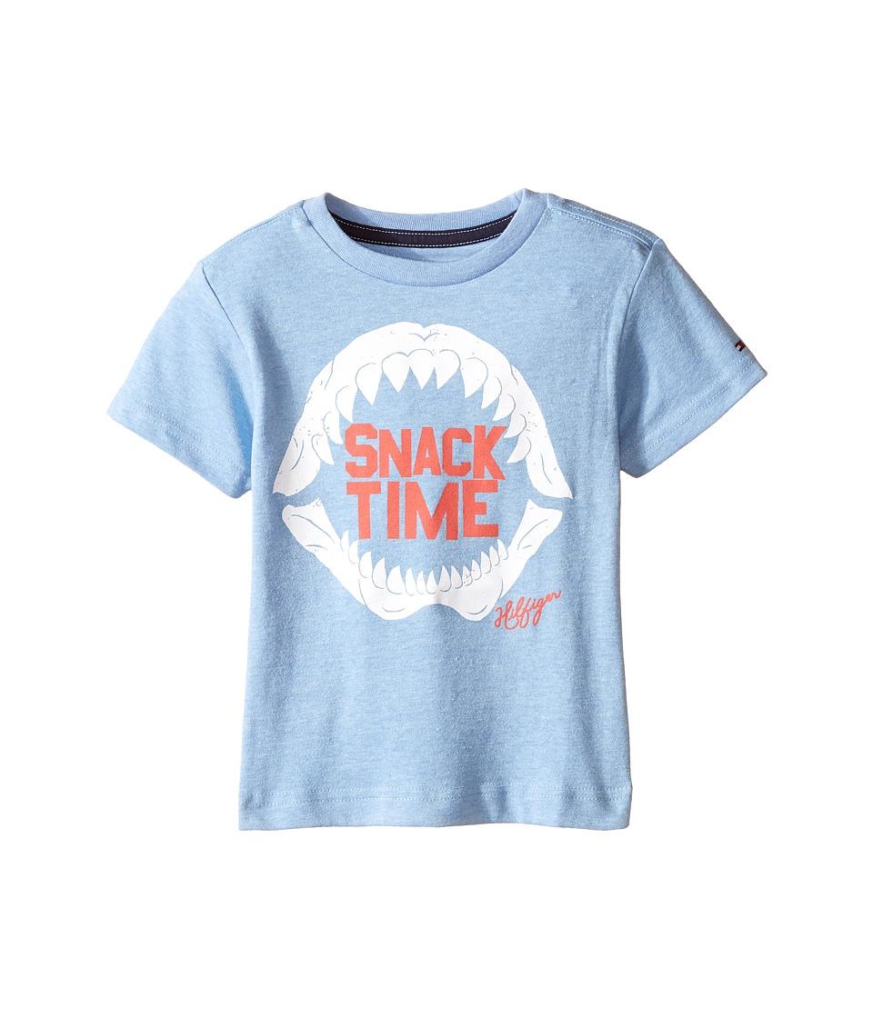 Tommy Hilfiger Kids - Mako Tee (Toddler/Little Kids) (Heather of Royal) Boy's T Shirt