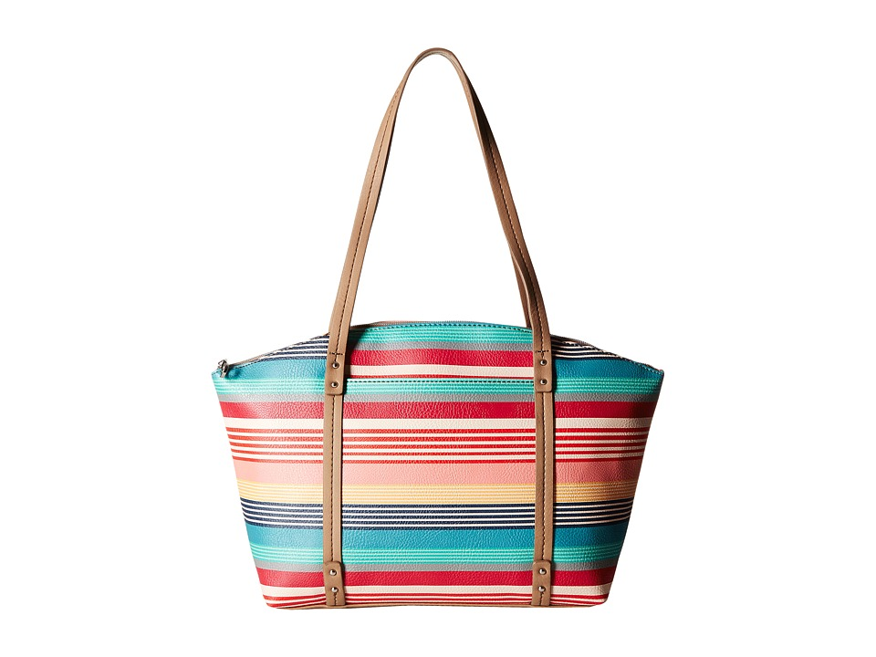 Relic - Caraway Novelty Medium Tote (Bright Stripe) Tote Handbags