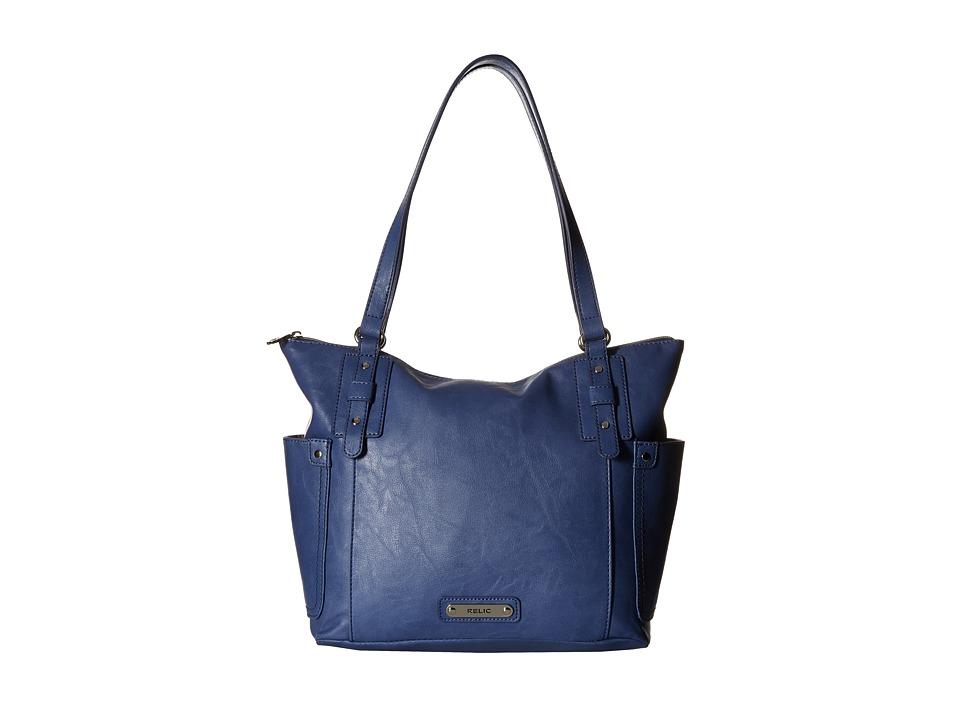Relic - Monroe Tote (Blueberry Cream) Tote Handbags