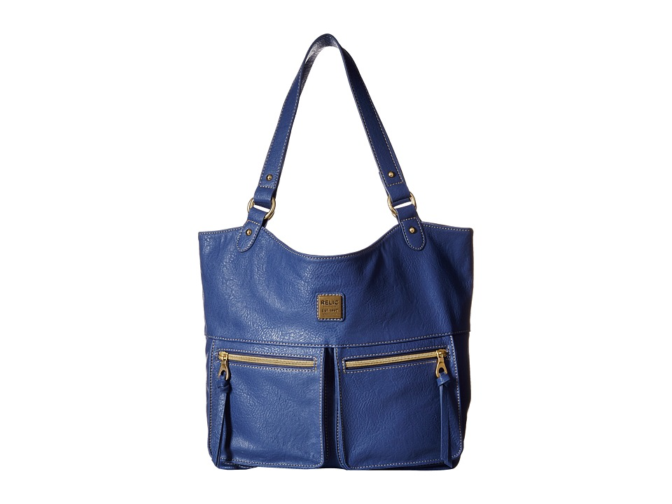 Relic - Selena Shopper Tote (Blueberry Cream) Tote Handbags